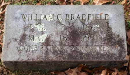 BRADFIELD, WILLIAM C. - Garland County, Arkansas   WILLIAM C. BRADFIELD - Arkansas Gravestone Photos