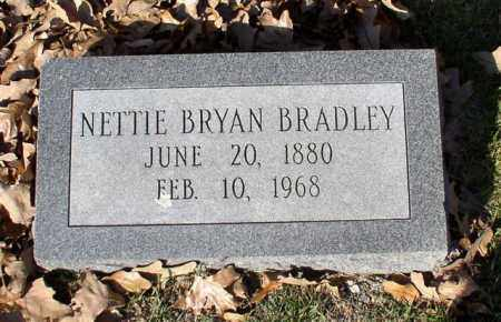 BRADLEY, NETTIE - Garland County, Arkansas | NETTIE BRADLEY - Arkansas Gravestone Photos