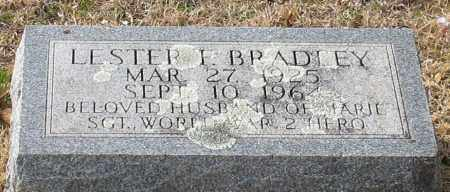 BRADLEY (VETERAN WWII), LESTER F - Garland County, Arkansas | LESTER F BRADLEY (VETERAN WWII) - Arkansas Gravestone Photos