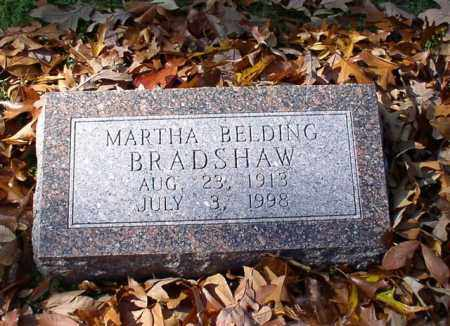 BELDING BRADSHAW, MARTHA - Garland County, Arkansas | MARTHA BELDING BRADSHAW - Arkansas Gravestone Photos