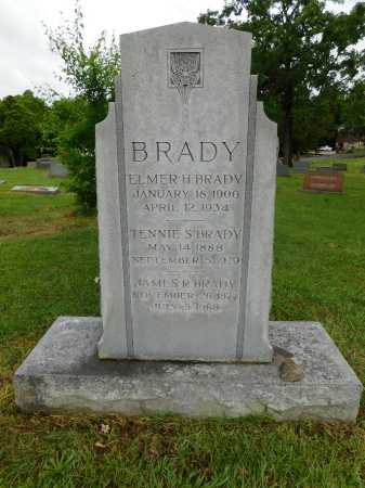 BRADY, ELMER H. - Garland County, Arkansas | ELMER H. BRADY - Arkansas Gravestone Photos