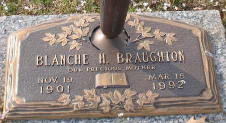 BRAUGHTON, BLANCHE H. - Garland County, Arkansas   BLANCHE H. BRAUGHTON - Arkansas Gravestone Photos