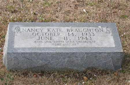 BRAUGHTON, NANCY KATE - Garland County, Arkansas   NANCY KATE BRAUGHTON - Arkansas Gravestone Photos