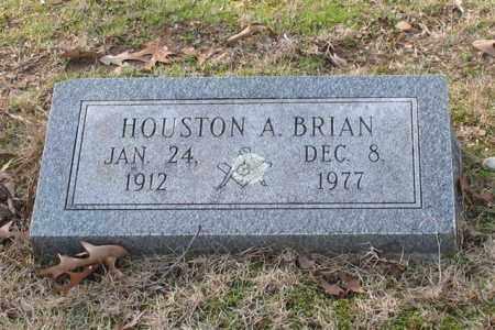 BRIAN, HOUSTON A. - Garland County, Arkansas | HOUSTON A. BRIAN - Arkansas Gravestone Photos