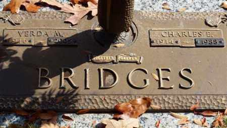 BRIDGES, CHARLES E - Garland County, Arkansas | CHARLES E BRIDGES - Arkansas Gravestone Photos