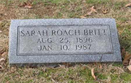 BRITT, SARAH THEODOSIA - Garland County, Arkansas   SARAH THEODOSIA BRITT - Arkansas Gravestone Photos