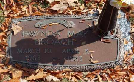 BROACH, FAWNDA MAY - Garland County, Arkansas | FAWNDA MAY BROACH - Arkansas Gravestone Photos