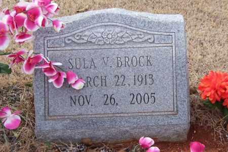 BROCK, SULA V. - Garland County, Arkansas | SULA V. BROCK - Arkansas Gravestone Photos