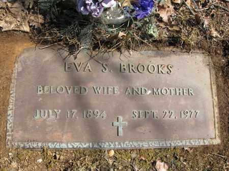BROOKS, EVA STEEL - Garland County, Arkansas   EVA STEEL BROOKS - Arkansas Gravestone Photos