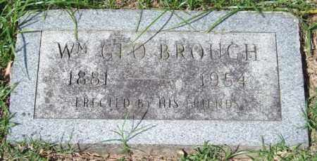 BROUGH, WILLIAM GEORGE - Garland County, Arkansas   WILLIAM GEORGE BROUGH - Arkansas Gravestone Photos