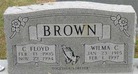 BROWN, C. FLOYD - Garland County, Arkansas   C. FLOYD BROWN - Arkansas Gravestone Photos