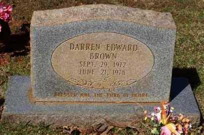 BROWN, DARREN EDWARD - Garland County, Arkansas | DARREN EDWARD BROWN - Arkansas Gravestone Photos