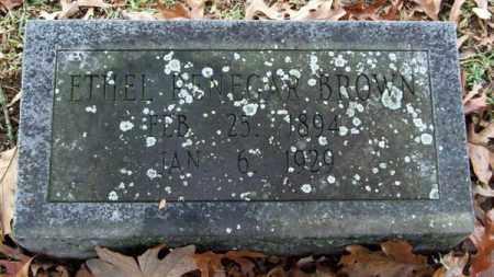 RENEGAR BROWN, ETHEL - Garland County, Arkansas | ETHEL RENEGAR BROWN - Arkansas Gravestone Photos