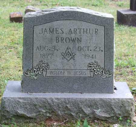 BROWN, JAMES ARTHUR - Garland County, Arkansas | JAMES ARTHUR BROWN - Arkansas Gravestone Photos