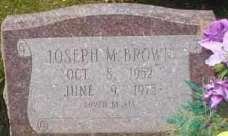 BROWN, JOSEPH M. - Garland County, Arkansas | JOSEPH M. BROWN - Arkansas Gravestone Photos