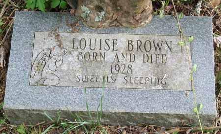 BROWN, LOUISE - Garland County, Arkansas   LOUISE BROWN - Arkansas Gravestone Photos