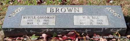 BROWN, MYRTLE - Garland County, Arkansas | MYRTLE BROWN - Arkansas Gravestone Photos