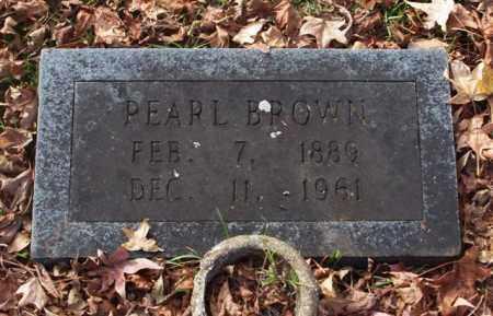 BROWN, PEARL - Garland County, Arkansas | PEARL BROWN - Arkansas Gravestone Photos