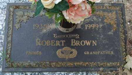 BROWN, ROBERT - Garland County, Arkansas   ROBERT BROWN - Arkansas Gravestone Photos