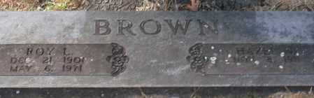 BROWN, ROY L. - Garland County, Arkansas   ROY L. BROWN - Arkansas Gravestone Photos