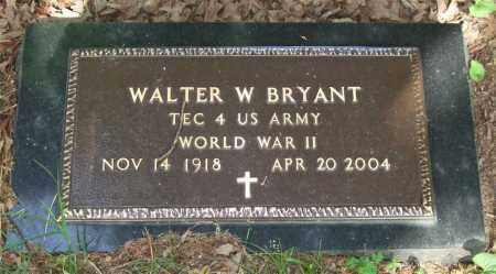 BRYANT (VETERAN WWII), WALTER WILL - Garland County, Arkansas | WALTER WILL BRYANT (VETERAN WWII) - Arkansas Gravestone Photos