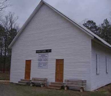 *BUCKVILLE CEMETERY, CHURCH - Garland County, Arkansas | CHURCH *BUCKVILLE CEMETERY - Arkansas Gravestone Photos