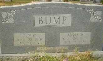 HELMS BUMP, ANNA M. - Garland County, Arkansas | ANNA M. HELMS BUMP - Arkansas Gravestone Photos