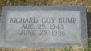 BUMP, RICHARD GUY - Garland County, Arkansas | RICHARD GUY BUMP - Arkansas Gravestone Photos