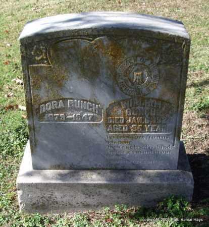 BUNCH, DORA - Garland County, Arkansas | DORA BUNCH - Arkansas Gravestone Photos