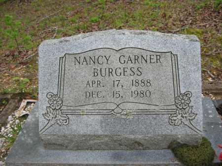 BURGESS, NANCY - Garland County, Arkansas | NANCY BURGESS - Arkansas Gravestone Photos