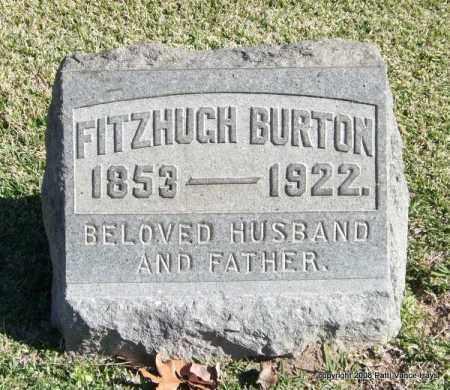 BURTON, FITZHUGH - Garland County, Arkansas | FITZHUGH BURTON - Arkansas Gravestone Photos