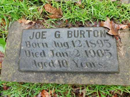 BURTON, JOE G. - Garland County, Arkansas   JOE G. BURTON - Arkansas Gravestone Photos