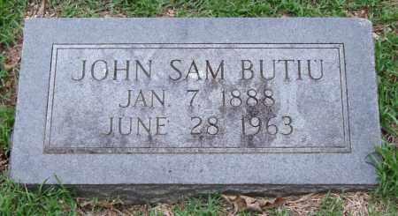 BUTIU, JOHN SAM - Garland County, Arkansas | JOHN SAM BUTIU - Arkansas Gravestone Photos