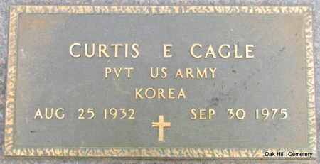 CAGLE (VETERAN KOR), CURTIS E - Garland County, Arkansas | CURTIS E CAGLE (VETERAN KOR) - Arkansas Gravestone Photos