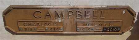 CAMPBELL, CHARLES H - Garland County, Arkansas | CHARLES H CAMPBELL - Arkansas Gravestone Photos
