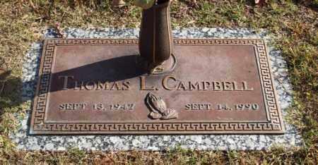 CAMPBELL, THOMAS L. - Garland County, Arkansas | THOMAS L. CAMPBELL - Arkansas Gravestone Photos