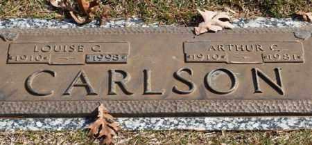 CARLSON, ARTHUR C. - Garland County, Arkansas | ARTHUR C. CARLSON - Arkansas Gravestone Photos