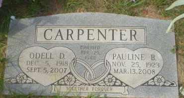 CARPENTER, ODELL D. - Garland County, Arkansas | ODELL D. CARPENTER - Arkansas Gravestone Photos