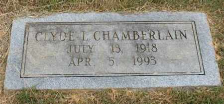 CHAMBERLAIN, CLYDE L. - Garland County, Arkansas | CLYDE L. CHAMBERLAIN - Arkansas Gravestone Photos
