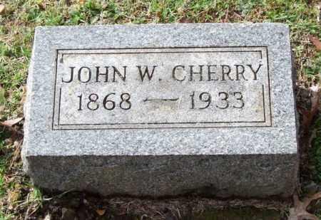 CHERRY, JOHN W. - Garland County, Arkansas | JOHN W. CHERRY - Arkansas Gravestone Photos