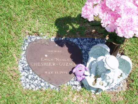 "CHESHIER-GUZMAN, EMILY ""NICOLE"" - Garland County, Arkansas | EMILY ""NICOLE"" CHESHIER-GUZMAN - Arkansas Gravestone Photos"