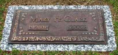 CLARK, MARY H - Garland County, Arkansas | MARY H CLARK - Arkansas Gravestone Photos