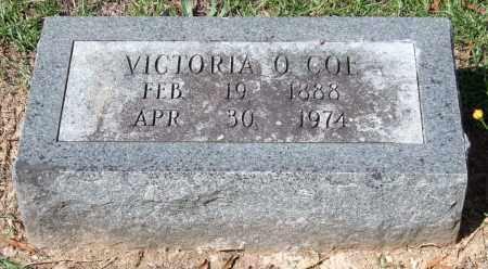 COE, VICTORIA O. - Garland County, Arkansas   VICTORIA O. COE - Arkansas Gravestone Photos