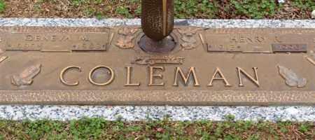 COLEMAN, GENEVA M - Garland County, Arkansas | GENEVA M COLEMAN - Arkansas Gravestone Photos