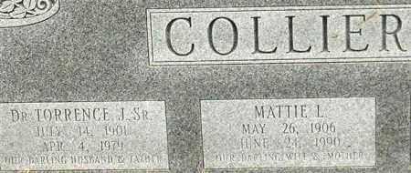 COLLIER, MATTIE L. (CLOSE UP) - Garland County, Arkansas   MATTIE L. (CLOSE UP) COLLIER - Arkansas Gravestone Photos