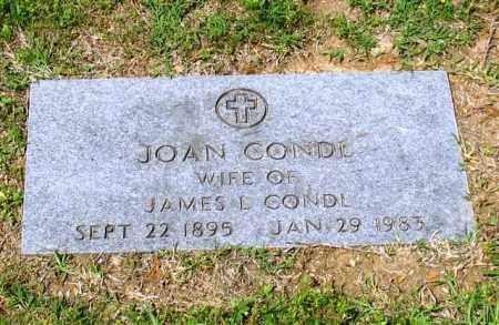 CONDL, JOAN - Garland County, Arkansas | JOAN CONDL - Arkansas Gravestone Photos