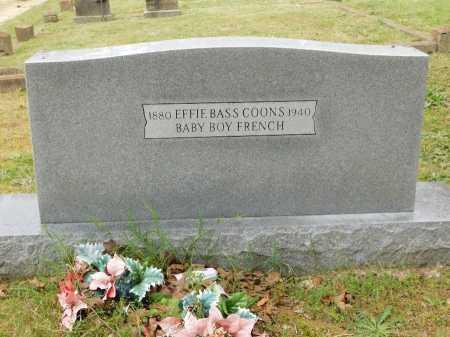 BASS COONS, EFFIE - Garland County, Arkansas | EFFIE BASS COONS - Arkansas Gravestone Photos