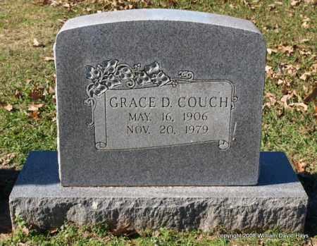 COUCH, GRACE D. - Garland County, Arkansas | GRACE D. COUCH - Arkansas Gravestone Photos