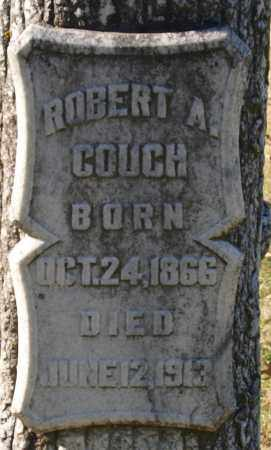 COUCH, ROBERT A. (CLOSE UP) - Garland County, Arkansas   ROBERT A. (CLOSE UP) COUCH - Arkansas Gravestone Photos