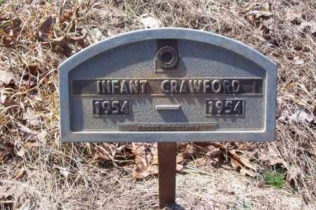 CRAWFORD, INFANT - Garland County, Arkansas   INFANT CRAWFORD - Arkansas Gravestone Photos